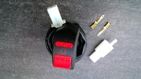 """Motorcycle motor bike Switch On and Off Switch Power 12V Universal 7/8"""" Handlebar Switch"""