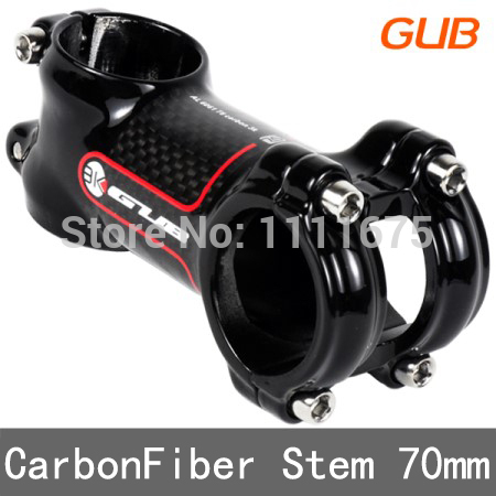 New Carbon Bicycle stem package carbon stem mtb road stem 3k finish 31.8*70/90mm Mountain bike parts Road Bicycle Equipment(China (Mainland))