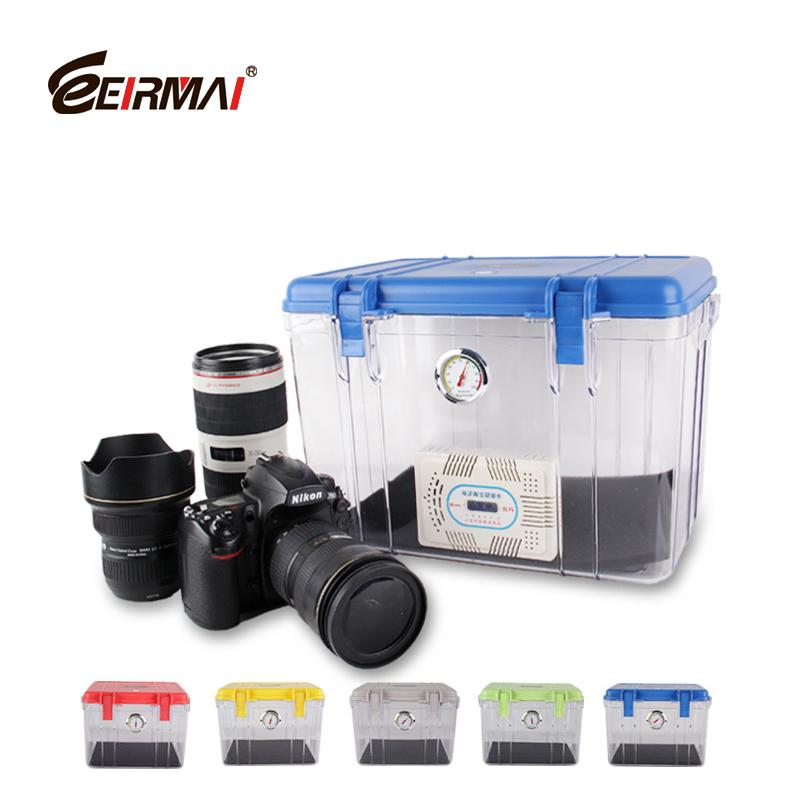 Eirmai slr camera moisture proof box lens hydroscopic storage box waterproof dry box Large(China (Mainland))