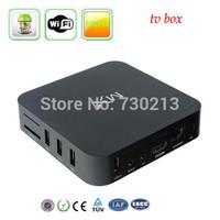 XBMC preinstalled Android 4.2.2 TV set top box Google Amlogic 8726-MX cheap Dual core 1.5GHz 1GB RAM 8GB hdmi av