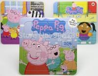 Children Cartoon Puzzles Peppa Pig Jigsaw