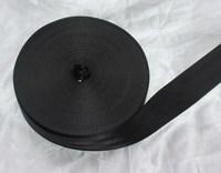 20 meter ROLL 49mm SEAT BELT SAFETY STRAP WEBBING Break Strength 2500KG BLACK COLOR