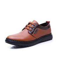 new 2014 Brand Fashion Men's Shoes Oxfords High Quality Geniune Leather Men's Casual Falts shoes dress men leather shoes RM-113