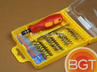 32 in 1 set Micro Pocket Precision Screwdriver Kit Magnetic Electron Screwdriver set cell phone tools repair box