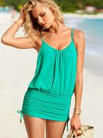 2014 new push up one piece swimsuit casual red blue 3090 brand women swimwear brazilian for bathing swim suit beach wear