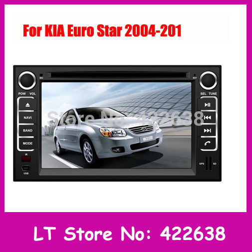KIA Euro Star Android Car DVD GPS Radio Player 2004 2005 2006 2007 2008 2009/2010/2011 With TV/3G/GPS/Wifi Kia car dvd player(China (Mainland))