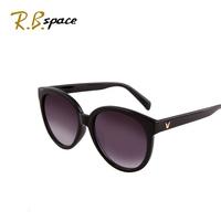2014 anti-uv sunglasses female sunglasses female glasses v big box sun glasses