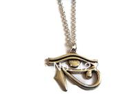 20pcs/lot Egyptian Necklace, Eye of Horus, Egyptian Jewelry, Hieroglyph Charm Pendant