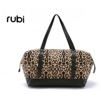 New arrival lady brand handbag,genuine leather & cotton shoulderbag woman, free shipping,1 pce wholesale.TB-14