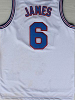 Free Shipping,#6 Lebron James tune squad 2 Rev30 New Material Basketball jersey,Embroidery logos,Size S-2XL,Mix Order