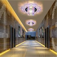 5W modern brief ceiling chandelier home lighting led ceiling lamp bedroom light AC220V AC230V AC240V lustres home decoration
