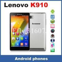 "Newst 2014 original 5.5"" Lenovo K910 VIBE Z Snapdragon 800 MSM8974 2.2GHz Quad Core 2GB 16GB Android 4.2  13.0MP Camera Dual Sim"