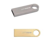 AU29 2014 Gold Silver Rectangle Mode Metal 1GB 4GB 8GB 16GB 32GB Original  2.0 USB disk flash card memory stick Keychain