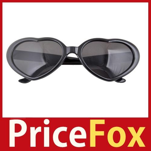 Novo estilo de moda PriceFox Retro coração Funny Love forma Lolita óculos de sol óculos economize até 50% correndo para comprar(China (Mainland))