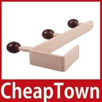 CheapTown Home Over Door Clothes Coat Bag Towels 3 Hooks Bathroom Kitchen F Storage Hanger Save up to 50%