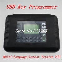 2014 Professional Universal Auto Key Programmer SBB V33.02 Multi-language Silca V33 SBB Key Maker  Free Shipping