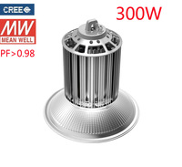 DHL free shipping UL SAA 3 years warranty CREE chip MEANWELL driver high power 300w high bay light LED industrial light