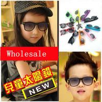 Fashion boys&girls Vintage sunglasses  goggles children sunglasses UV protection 24pcs/lot free shipping