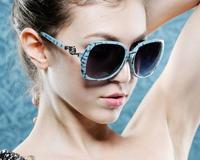 Free Shipping 2014 Fashion Frog Mirror Sunglasses Aviator glasses Vintage Eyeglasses glasses Women Polarized Sunglasses 8 COLORS