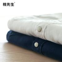 Linen shirt 2014 spring male pure linen shirt casual shirt slim male long-sleeve
