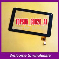 7 inch capacitor tablet touch screen handwritten screen Screen TOPSUN_C0020_A1