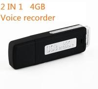 New voice recorder 4GB USB Pen Flash Drive Disk Digital Audio Voice Recorder 70 Hours mini Recording Dictaphone