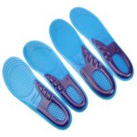 1 Pair Men Women Orthotic Arch Support Sport Shoe Gel Massaging Insole Run Pad