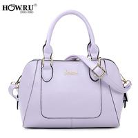 Howru 2014 candy color handbag one shoulder cross-body women's handbag
