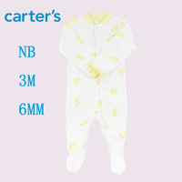 Carters Jumping Beans Baby Rompers long Sleeve Floral Baby Girls and boys 1pcs/lot Conjoined clothes Free Shipping