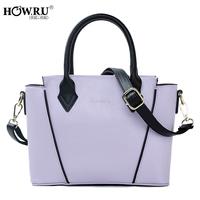 Howru 2014 fashionable casual candy color one shoulder cross-body handbag women's handbag