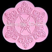 Instant Lace Mold Lace Fondant Cupcake Decoration Mold Fondant Cake Tools JH-148