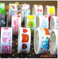 30PCS\LOT Small tape cartoon tape cartoon color tape adhesive tape