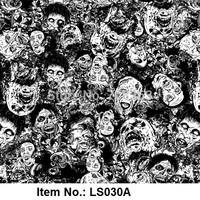 Skull PVA Water transfer printing film Item NO. LS030A