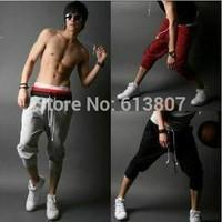 23014 beach pants Korean cultivating leisure men's seven minutes of pants