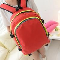 2013 candy color backpack vintage student bag school bag fashion women's backbag bag