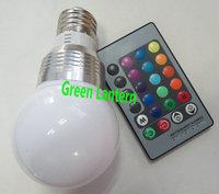 Remote Control 3w RGB led bulb e14 with controller rgb LED Bulb Ligthing