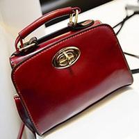 new arrival 2014 female Bags vintage oil skin portable small handbag mini women's  handbag cute bags Free shipping