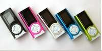 2014 NEW Mini Clip Design Digital LED Light Flashlight MP3 Player Music Player with TF Card Slot 5 Colors