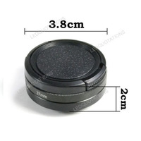 New 37mm Filter Adapter Glasses UV Lens + Protective Cap for Gopro Hero 3 3+