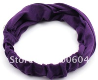 2014 Hair accessories for women fashion head band double-deck Cloth Unisex hair clips Indian Stretchable Turban Hat Headwrap
