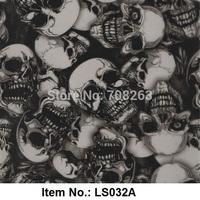 Creepy Skull PVA Water transfer printing film Item NO.LS032A