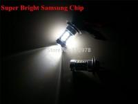 Free Shipping Xenon White H7 Samsung 16W led car fog light 12V 24V DRL Daytime Running light for C300 Same Bright As Cree 80W