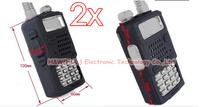 2x Soft Silicone Shell Case for Two Way Radio Baofeng UV5R UV-5R TYT TH-F8