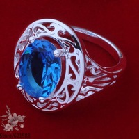 AR375 925 silver fashion jewelry Wholesale 925 sterling silver ring /halaprsa ezxanrea