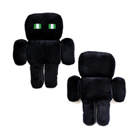 Wholesale/retail Free Shipping Cute Minecraft Enderman Plush Soft Toy Stuffed Animal Doll