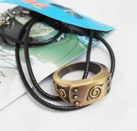 2014 NEW Anime Cosplay Naruto Konoha tan Necklace pendant Metal Free Shipping FS