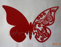 60 pcs cup cards glass cup decorative butterfly shaped cake decorating tools for birthday party cupcake topper