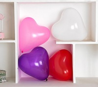 wholesale 12 inch 1.3g Heart-shaped balloon party balloons girl baby party decoration mini mylar balloons pet supply express