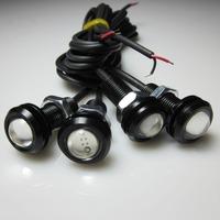 1 pair  3W LED Car Light DRL Eagle Eye Bulk  Fog Daytime Reverse Backup Parking Signal Light
