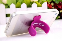 Touch U silicone stand cellphone Mounts Holders for iphone Samsung HTC NOKIA IPAD + Retail package 100pcs/lot